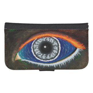 The Eye of Mother Nature Galaxy S4 Wallet