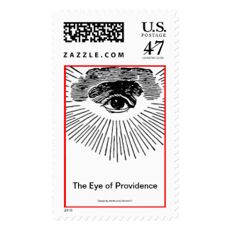 The Eye of Providence Postage