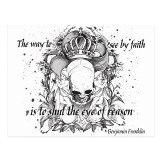 The Eye of Reason Postcard