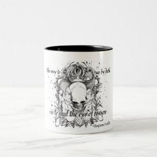 The Eye of Reason Two-Tone Coffee Mug