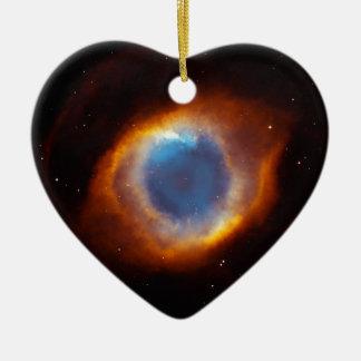 The Eye Of The Galaxy Ceramic Ornament