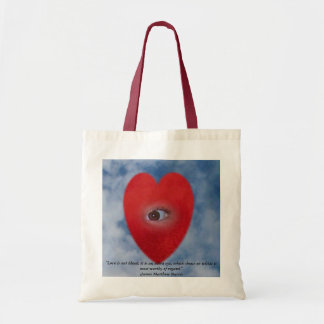 The Eye of The Heart Tote Bag