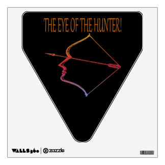 The Eye Of The Hunter 2 Wall Decal