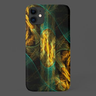 The Eye of the Jungle Abstract Art Case-Mate iPhone Case
