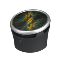 The Eye of the Jungle Abstract Art Speaker