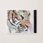 The Eye of the Tiger Jigsaw Puzzles