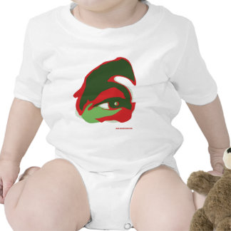 The EYE of ZAYED (the vision) Baby Bodysuit