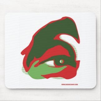 The EYE of ZAYED (the vision) Mouse Pad