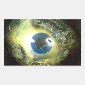 The Eye Rectangular Sticker