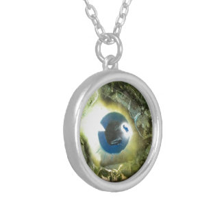 The Eye Silver Plated Necklace