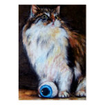 The Eyeball ACEO Art Trading Cards Business Card Template