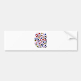 the eyeball collector bumper sticker