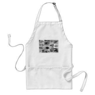 The Eyes Have It Adult Apron