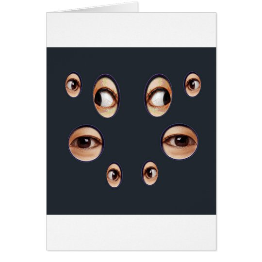 The Eyes Have it! Card