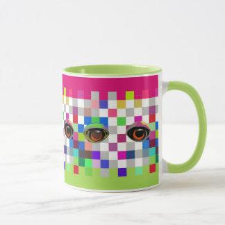 The Eyes Have It Pop Art Mug