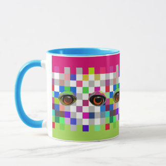 The Eyes Have It Pop Art Mug 2
