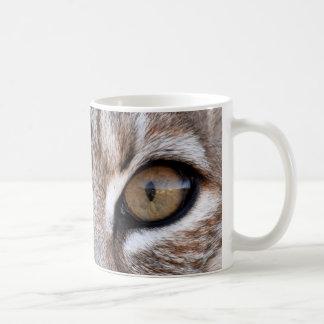 The Eyes Of A Bobcat Coffee Mug