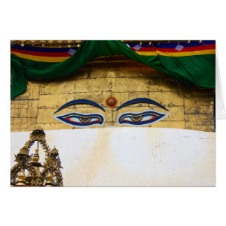 The Eyes of Buddha Card