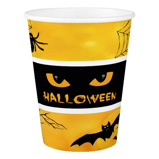 The Eyes of Halloween Paper Cup, 9 oz Paper Cup