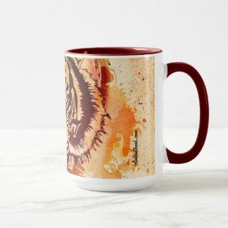 The eyes of to tiger mug
