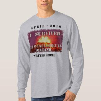 The Eyjafjallajokull volcano T Shirt
