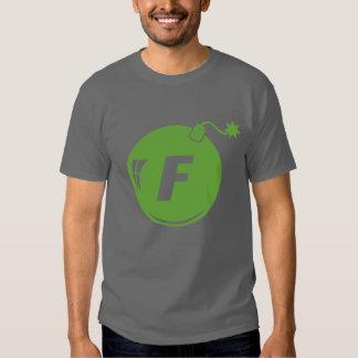 The F Bomb Green Apple Tee Shirts