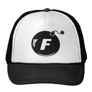 The F Bomb LID Trucker Hat