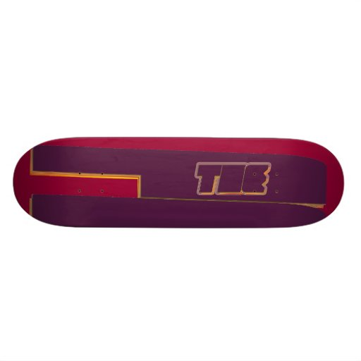 The F of the Front Skateboard Deck