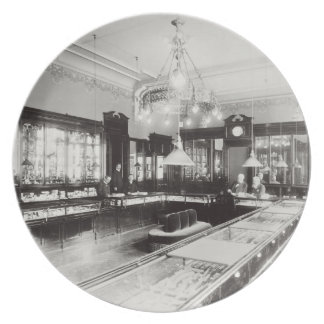 The Faberge Emporium (b/w photo) Dinner Plate