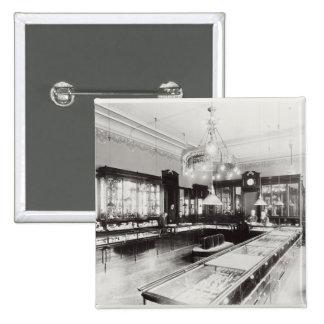The Faberge Emporium (b/w photo) Pinback Button