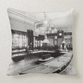 The Faberge Emporium (b/w photo) Throw Pillow
