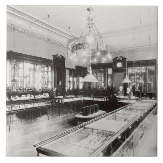 The Faberge Emporium (b/w photo) Tile