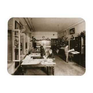 The Faberge Workshop (b/w photo) Magnet