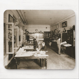 The Faberge Workshop (b/w photo) Mouse Pad