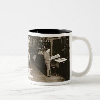 The Faberge Workshop b w photo Coffee Mug