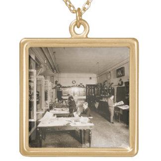 The Faberge Workshop (b/w photo) Custom Jewelry