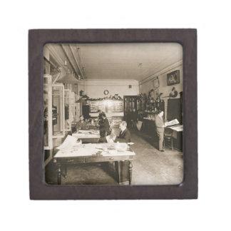 The Faberge Workshop (b/w photo) Premium Gift Box