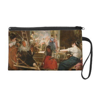 The Fable of Arachne or The Spinners c 1657 oil Wristlet