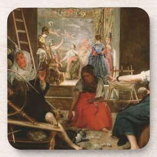 The Fable of Arachne, or The Spinners, c.1657 (oil Coaster