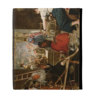 The Fable of Arachne, or The Spinners, c.1657 (oil iPad Folio Cases