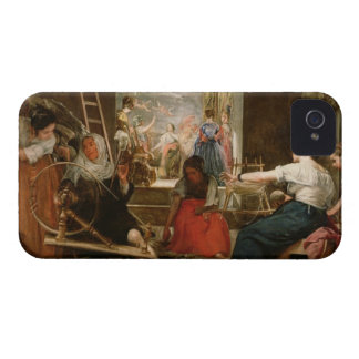 The Fable of Arachne, or The Spinners, c.1657 (oil iPhone 4 Case-Mate Case