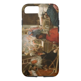 The Fable of Arachne, or The Spinners, c.1657 (oil iPhone 7 Case