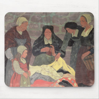 The Fabric Seller, c.1898 Mouse Pad
