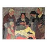 The Fabric Seller, c.1898 Postcard