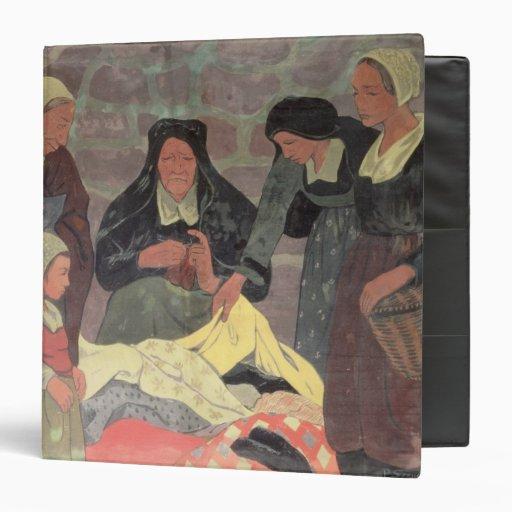 The Fabric Seller, c.1898 Vinyl Binders