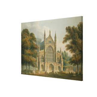 The Facade from the North-West Canvas Print