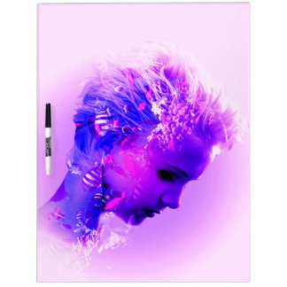 The Face 1A-1B Image Options Dry Erase Board