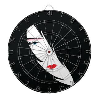 The Face Dart Board