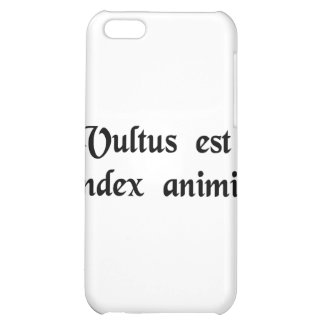 The face is the index of the soul. iPhone 5C covers