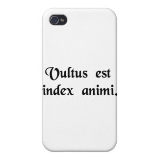 The face is the index of the soul. iPhone 4/4S cases